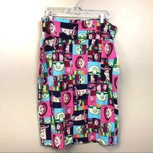 New with tags LuLaRoe Disney toy story skirt 2x